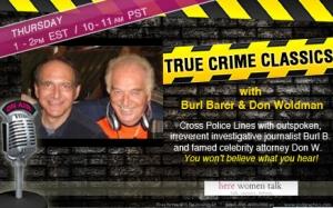 Burl Barer,True Crime Classics