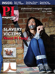 Dottie Laster,Human Traffickiing,PI Magazine