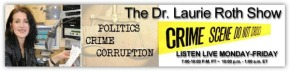 The Dr. Laurie Roth Show: Crime, Corruption, and Coverups!  January 14-18