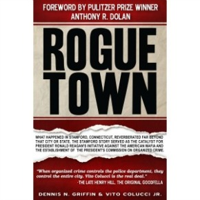 Margaret McLean's It's A Crime Radio Hosts ROGUE TOWN Authors Dennis Griffin and Vito Colucci, Jr.