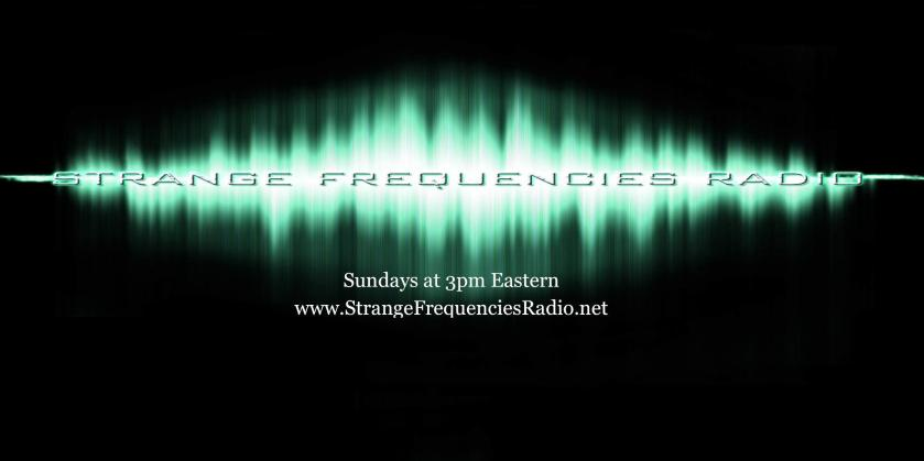 Strange Frequencies Radio,Dr. Scott Bonn,ImaginePublicity