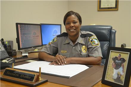 Chief Saundra Rhodes,Shattered Lives, Horry County Police Department,ImaginePublicity,Shattered Lives