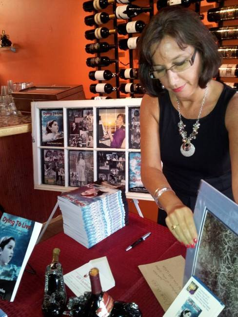 Amy Susan Crohn, Dying to Live, Book Signing, Coastal Wine Boutique, ImaginePublicity