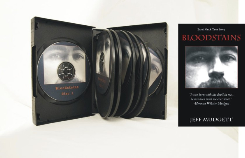 Bloodstains, audio book,Jeff Mudgett,HHHolmes,ImaginePublicity