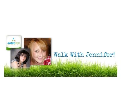 Walk With Jennifer, Dr. Dalal Akoury, AWAREmed