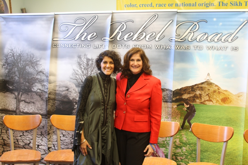 Jillian Maas Backman and Simran Singh, Rebel Road Tour, ImaginePublicity