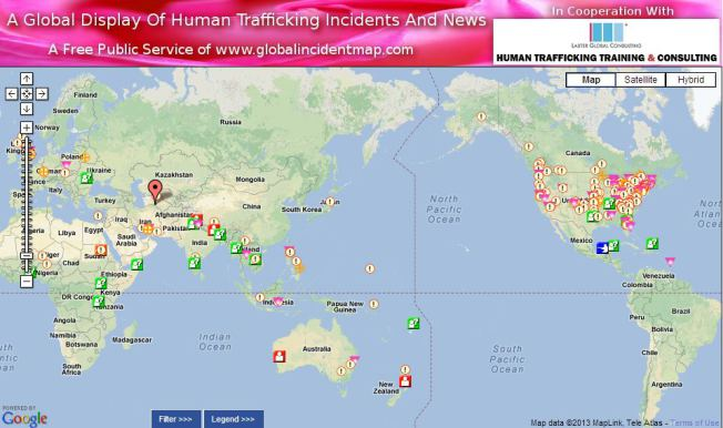 human trafficking, Dottie Laster, Laster Global Consulting