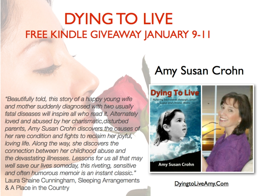 Dying to Live, Amy Susan Crohn, ImaginePublicity, Kindle Giveaway