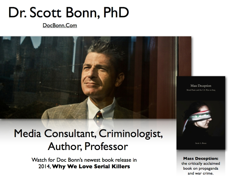 Dr. Scott Bonn, Doc Bonn, ImaginePublicity