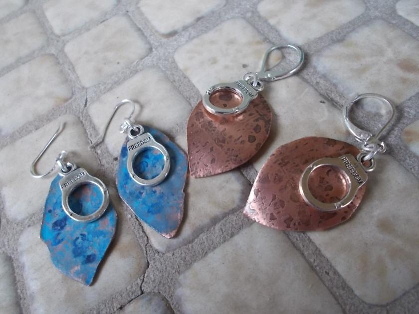 TRAFFICKED Designs earrings