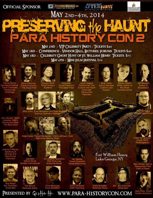 Para History-Con 2, Jeff Mudgett, Bloodstains