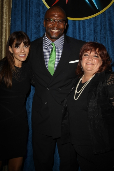 Dottie Laster, Marisol Nichols, Terry Crews, Youth for Human Rights