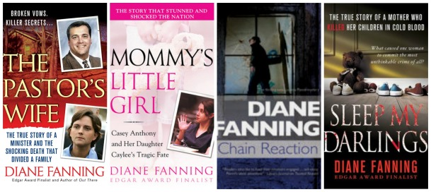 Diane Fanning book sample covers