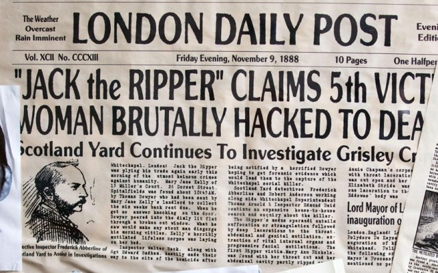 Jack The Ripper H H Holmes One And The Same Evidence