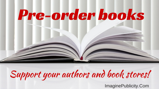 Pre-order books to support your author and book store