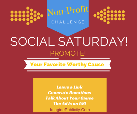Saturday Social, Social media marketing, ImaginePublicity,Non-profit Challenge