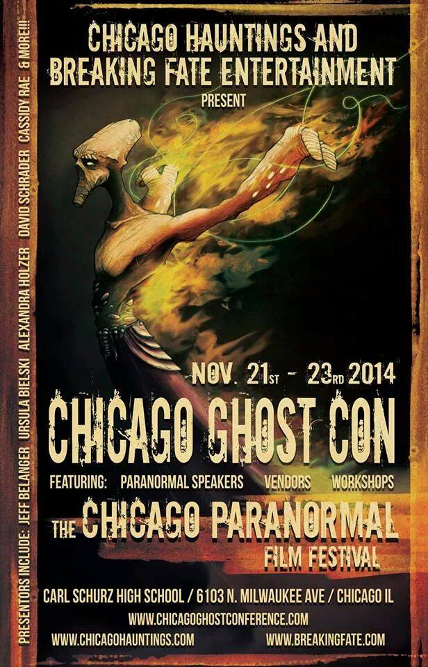 Chicago Ghost Conference, Jeff Mudgett, ImaginePublicity