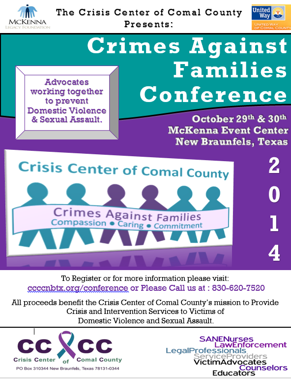 Crisis Center of Comal County Conference, Dottie Laster
