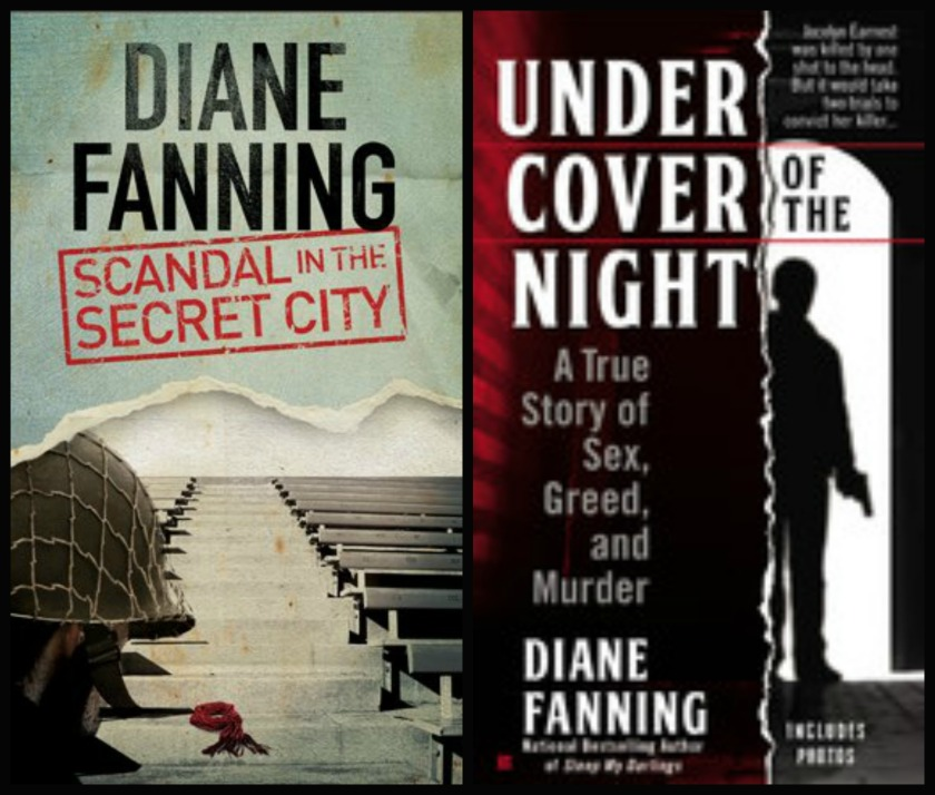 2014 Diane Fanning book covers