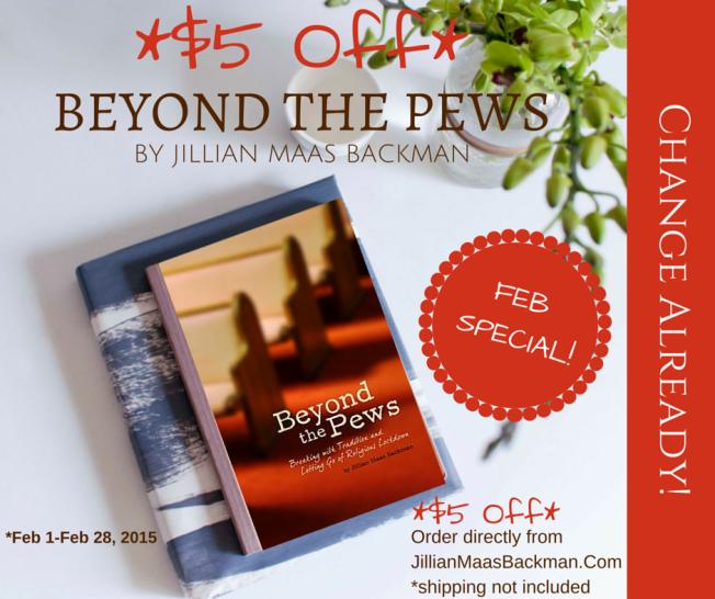 Beyond the Pews, Jillian Maas Backman