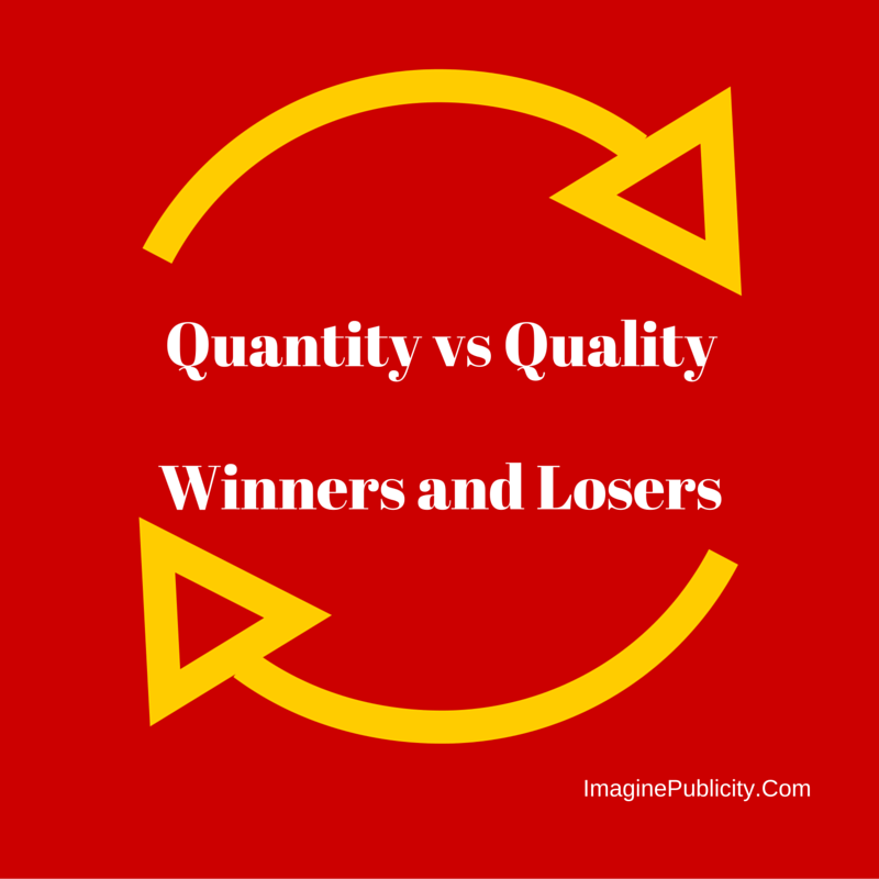 Social media marketing, quality vs quantity
