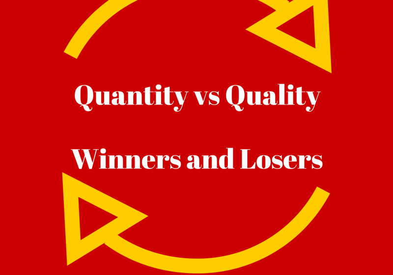 Social media marketing, quality vs quantity