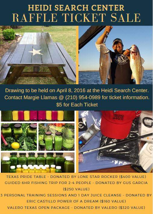 Heidi Search Center Raffle